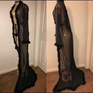 Other - Marabou Fur Robe